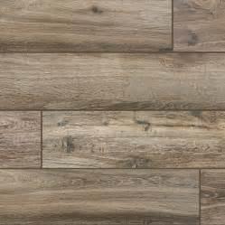 wood series marrone 6 5x40 wood plank porcelain tile