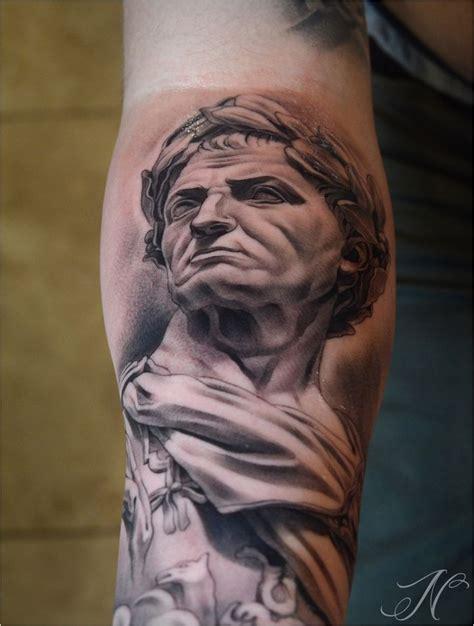 julius caesar tattoo gaius julius caesar bust ideas