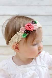 crochet headbands for babies free crochet flower headband pattern baby toddler