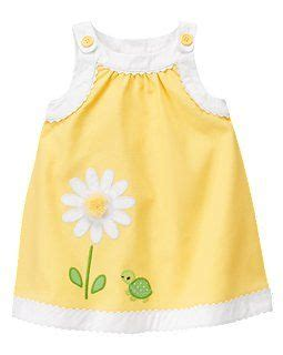 Gymboree Dress60k P embroidered flower chambray dress baby clothes so and dresses for easter