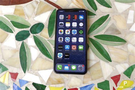 test de l iphone xs max la taille 231 a compte