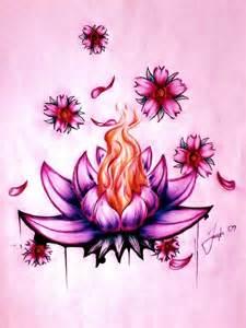 Lotus Flower Drawings Lotus Flower By Lesweetlou On Deviantart