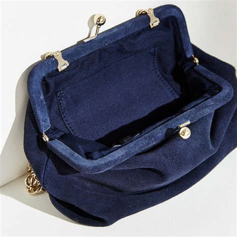 Outfitters Turquoise Suede Bag by Outfitters Sold Outfitter Blue Suede Chain