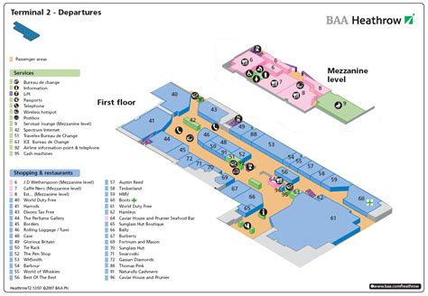 heathrow terminal 5 floor plan terminal 2 heathrow departures airport layouts of