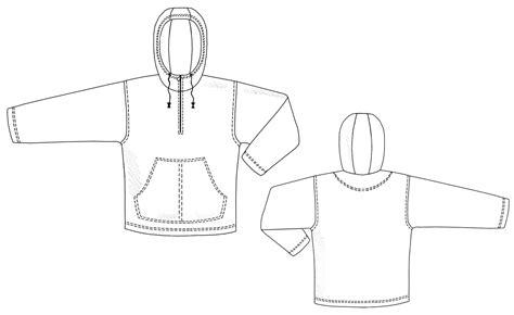 women s hooded sweatshirt with pocket template vector hooded sweatshirt with front pocket sewing pattern 6103