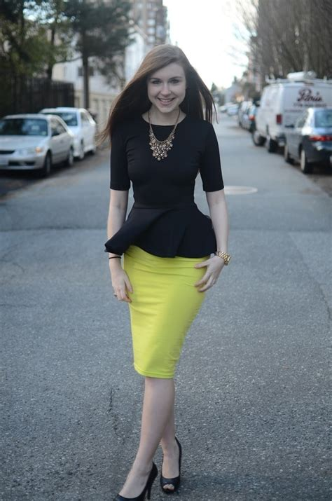 four fresh ways to wear pencil skirts aelida