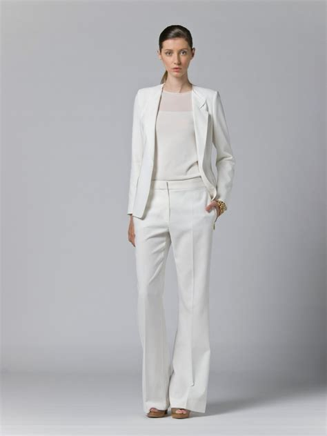 white pant suit pant suit for wedding for wedding dress for wedding guest for prom evening jumper