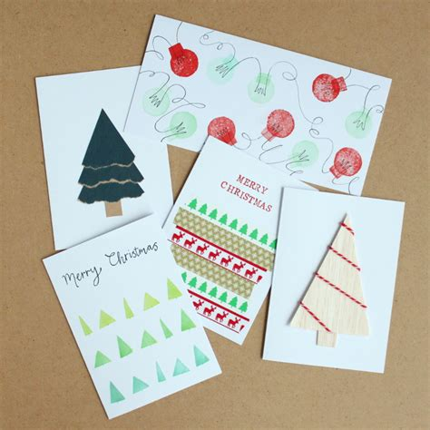 Handmade Simple Cards - 5 simple handmade cards you can make yourself