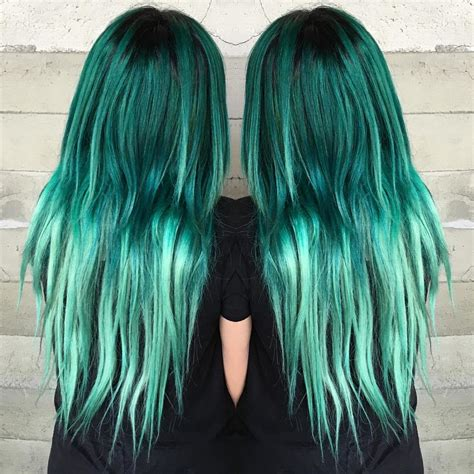 Green Hairstyles by 20 Ways To Rock Green Hair