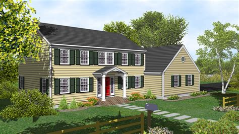 two story colonial 2 story colonial house plans two story colonial house with
