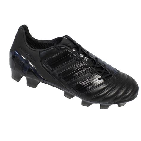 black football shoes adidas adipower predator mens football boots black