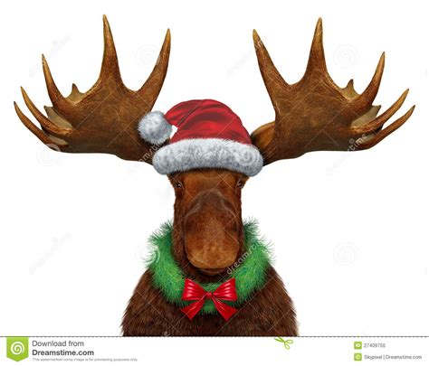 free christmas moose clipart 47