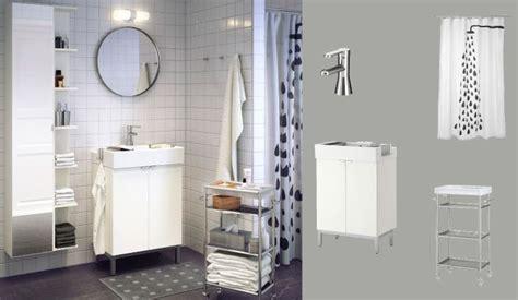 ikea badezimmer lillangen lill 197 ngen waschbeckenunterschrank weiss mit zwei t 252 ren und
