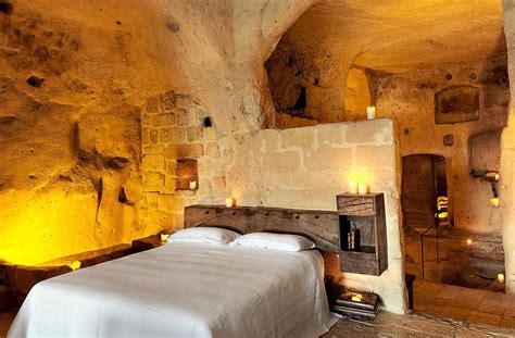 cave bedroom cave hotel sextantio le grotte della civita idesignarch
