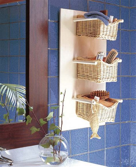 wicker baskets for bathroom storage tips on using wicker items for the interiors interior