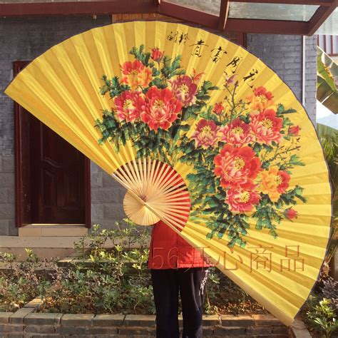 large decorative paper fans large hanging decorative fan big fan folding fan