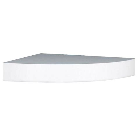 home depot decorative shelves rubbermaid 8 in x 24 in white laminate decorative shelf