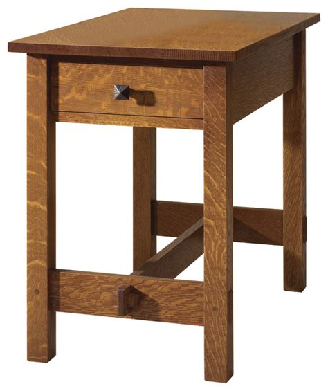 stickley end table with drawer 89 91 447