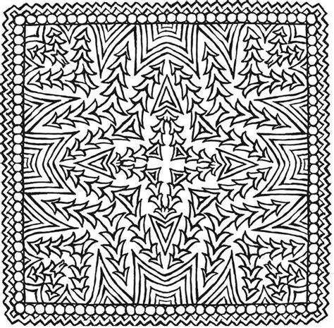 square mandala coloring pages simple square mandala coloring pages www pixshark