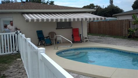 L Shades St Petersburg Fl by Ta Bay Shade St Pete Florida Retractable Awnings