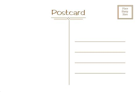 post card templates postcard template free e commercewordpress