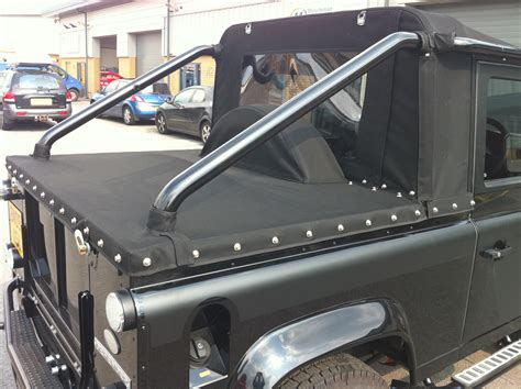land rover defender convertible for sale tonneau conversion for land rover defender svx convertible