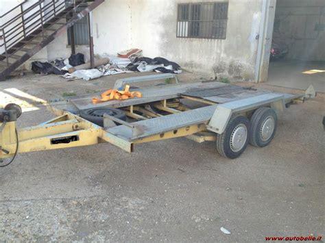 vendo carrello porta auto scaduto vendo carrello porta auto doppio asse 170609