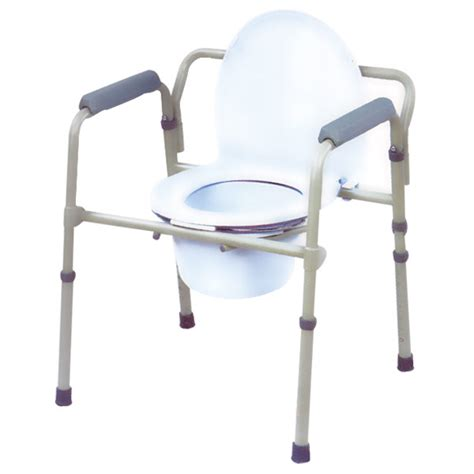 standard seat depth maxiaids folding steel commode standard 16 5 in seat depth