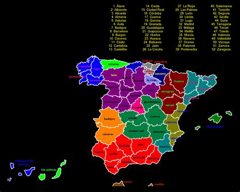 espaa para sus soberanos comunidades aut 243 nomas y provincias de espa 241 a tama 241 o completo