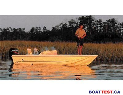 scout boats boat test 2002 scout 155 sport fish tested reviewed on boattest ca