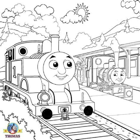 get this thomas the tank engine coloring pages online 36221