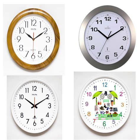 Jam Dinding Terbalik desain jam distributor barang promosi perusahaan