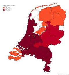 netherlands density map comparative population density maps of 11 countries wywing
