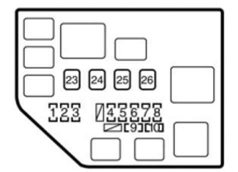 diagram of 2000 toyota echo fuse box wiring diagrams