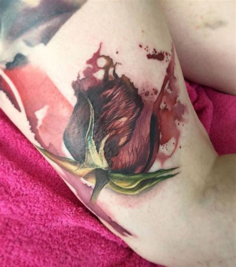 tattoo pictures rose buds 25 best ideas about rose bud tattoo on pinterest pinky