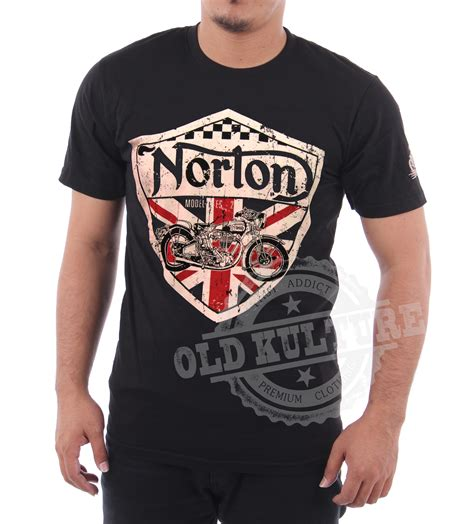 cafe racer norton motorcycle t shirt available now t