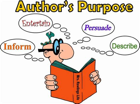 a s purpose author language arts posters author s purpose jpg