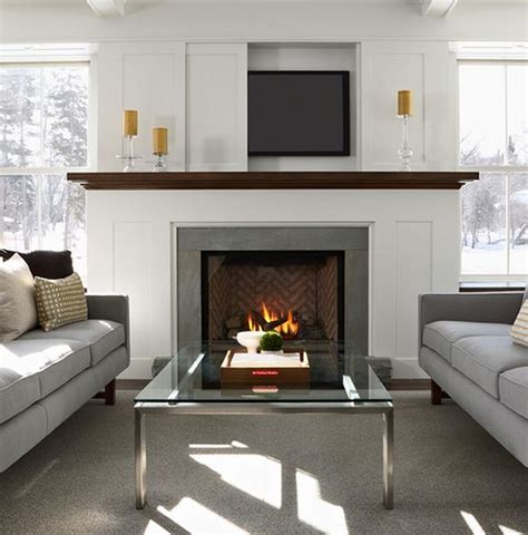 television over fireplace 25 best ideas about tv fireplace on pinterest fireplace