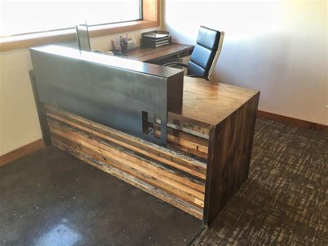 Business Grain Designs Build Reception Desk