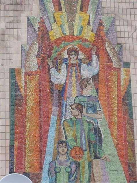 decommunised ukrainian soviet mosaics 3869225831 soviet mosaic in ukraine technological university