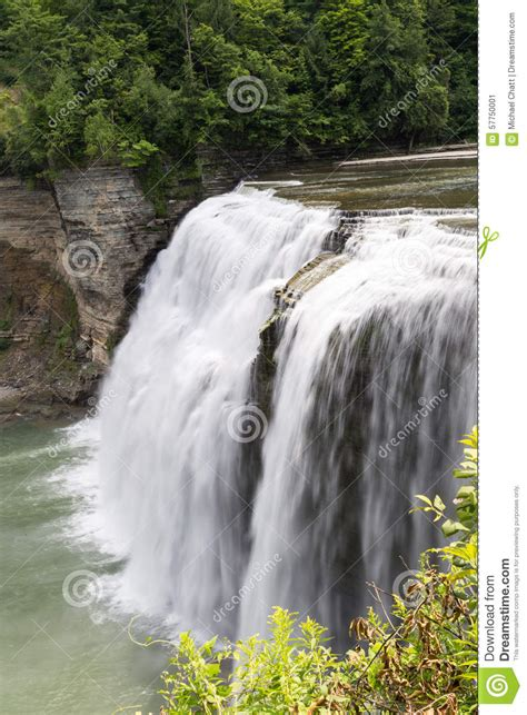 the and of dominick davidner middle falls time travel novel volume 3 books letchworth middle falls stock photo image 57750001