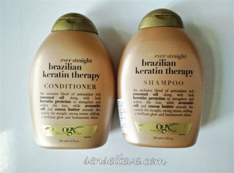 Shoo The Shop organix keratin shoo and conditioner organix keratin shoo
