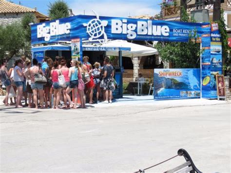 zakynthos motorboat rent the office at limni keri harbour picture of the bigblue