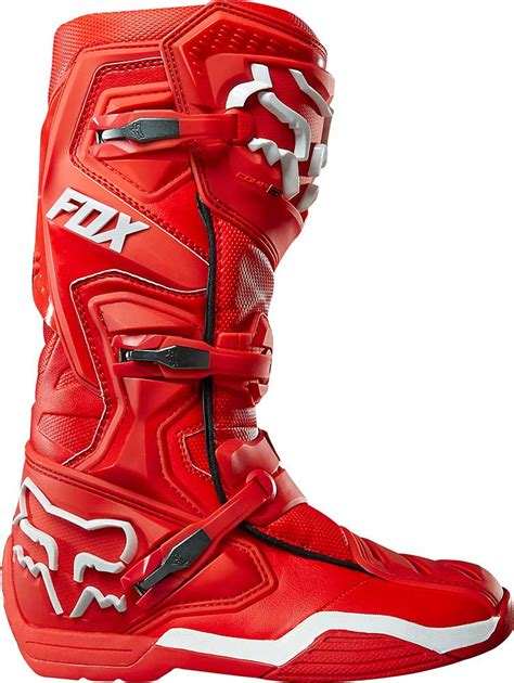 red dirt bike boots 2016 fox racing comp 8 boots motocross dirtbike mx atv
