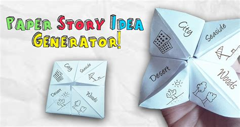 idea generator make your own paper story idea generator imagine forest