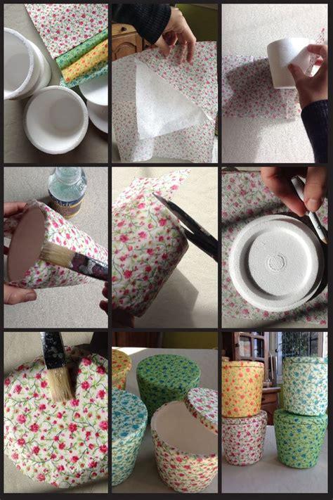 tutorial para hacer decoupage hacer algunas cajas lindas con las tazas de helado de