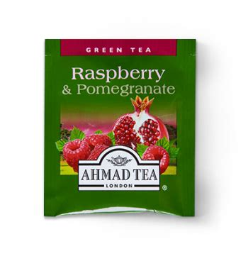 Ahmad Tea Raspberry Indulgence 40g Flavoured Black Tea 20 Tea Bag ahmad tea usa raspberry and pomegranate green tea bursts with real fruit