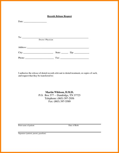 Medical Release Of Information Form Template Portablegasgrillweber Com Records Consent Form Template