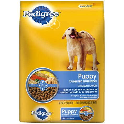 pedigree puppy chow pedigree puppy complete nutrition food 28 lb walmart