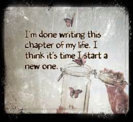 another chapter in life quotes quotesgram